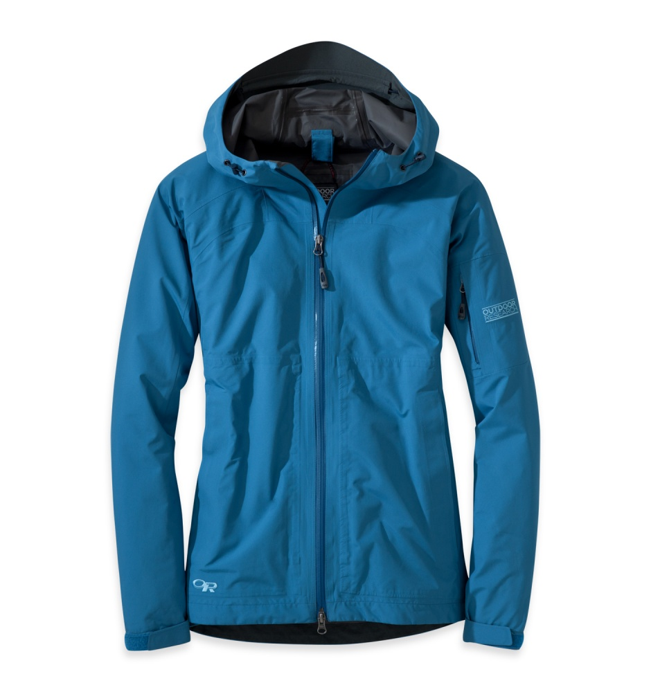 Gear Review Women S Outdoor Research Aspire Rain Jacket