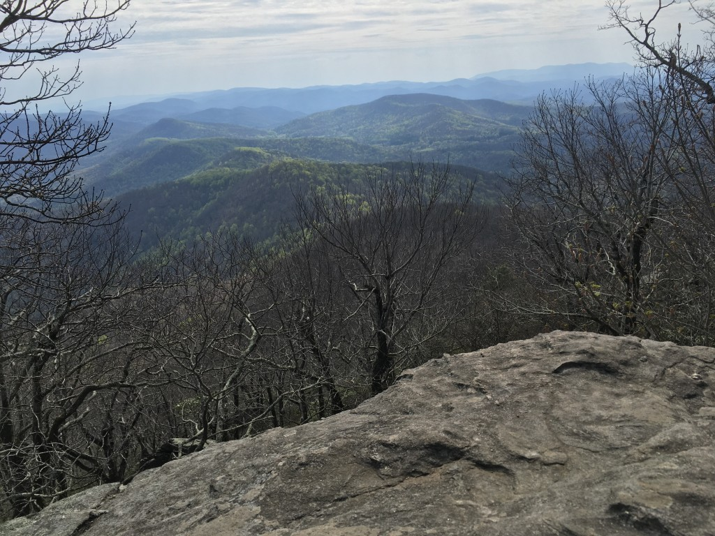Blood mountain view