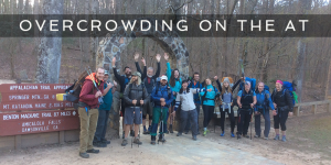 overcrowding on the appalachian trail