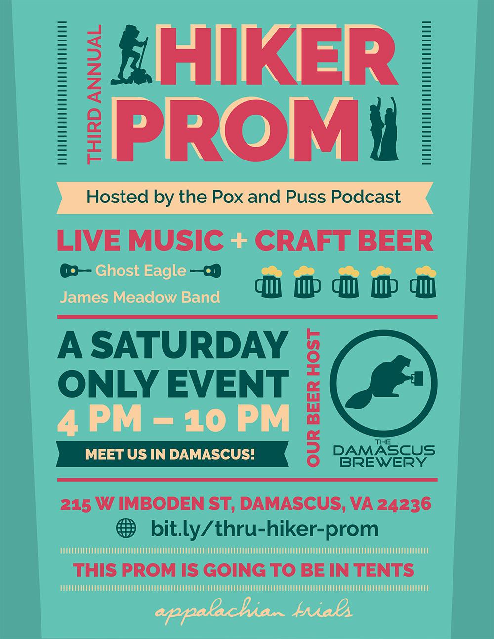 thru-hiker prom poster