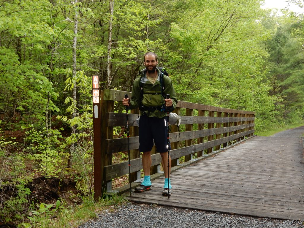 Virginia Creeper Trail is a Rails to Trails project that converted an old railway into a great biking/hiking trail!