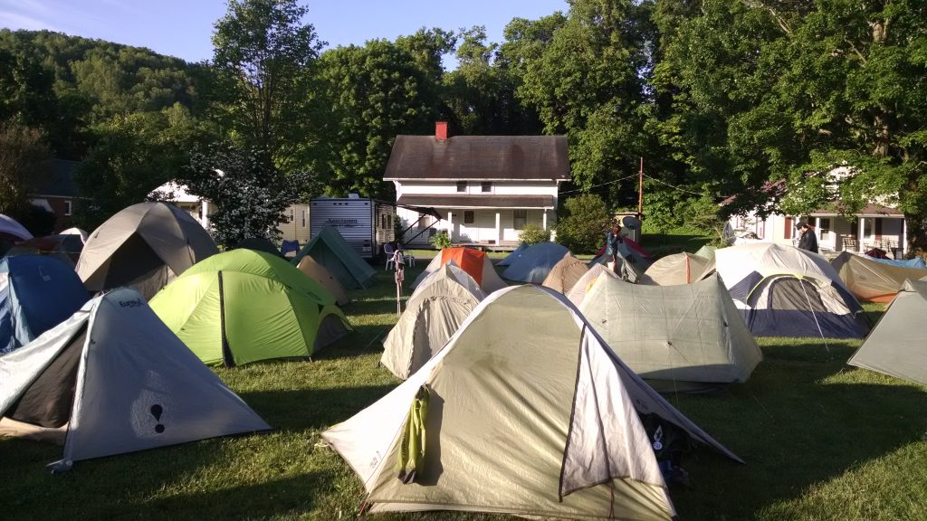 Tent City II at The Place