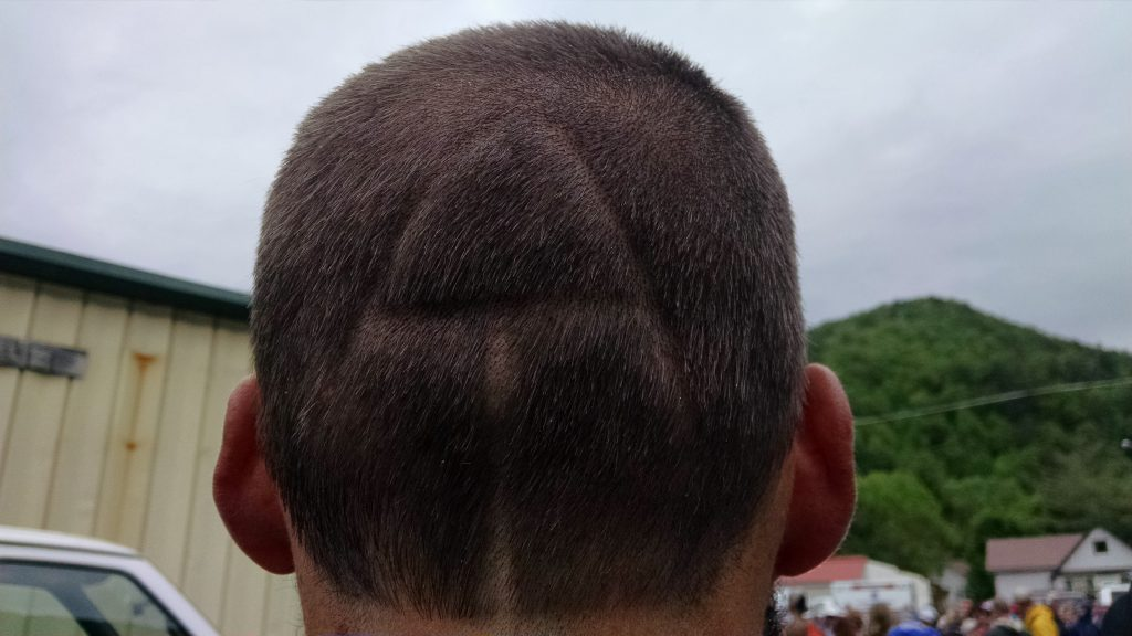Andrew's new cut
