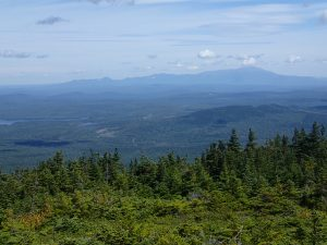 Katahdin from Whitecap Mountain in the Hundred Mile Wilderness.