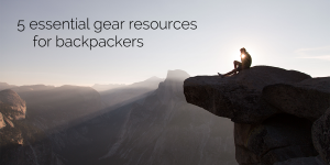 gear resources for backpackers