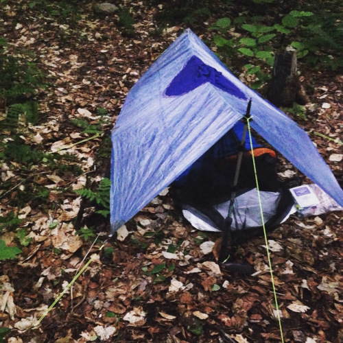The breathability is a pro ...and a con & MYOG: Make Your Own Ultralight Breathable Tarp Poncho - The Trek