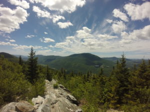 The beautiful view from Mt Baker in Vermont