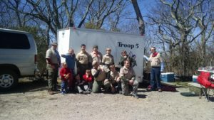 "Thank you Troop 5 for your ""Scout Magic""!"