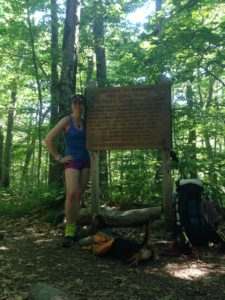 The Long Trail and the AT overlap for 105 miles