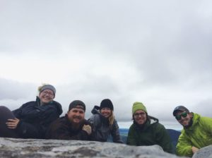 My trail family. The Intrepid 6
