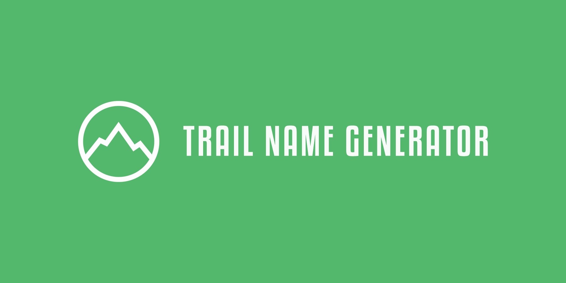 Trail Name Generator The Trek