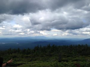 Seeing Katahdin for the first time!!