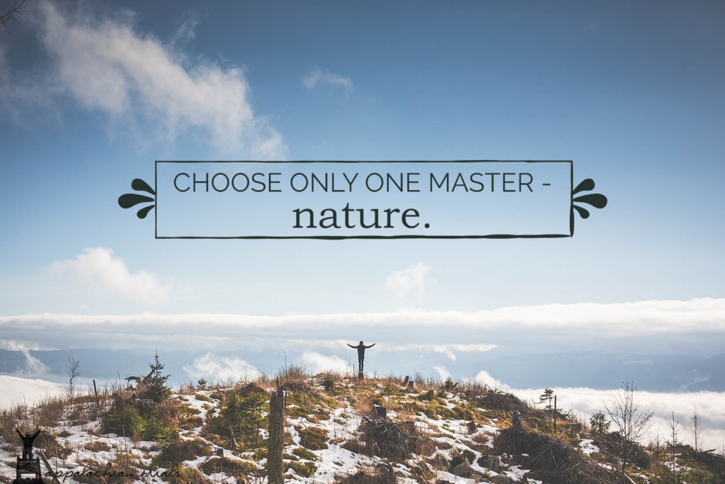 choose only one master- nature.