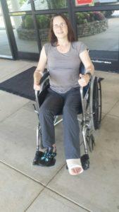 AT Leaving Franklin Hospital