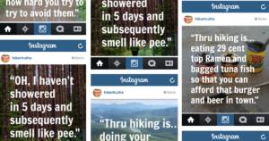 Hiking Truths Instagram
