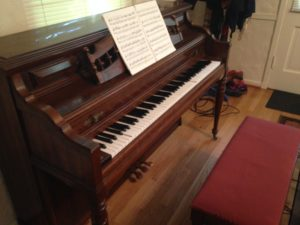 My new spinet!