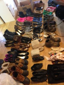 Unbeknownst to me, I was a super shoe hoarder. No more.