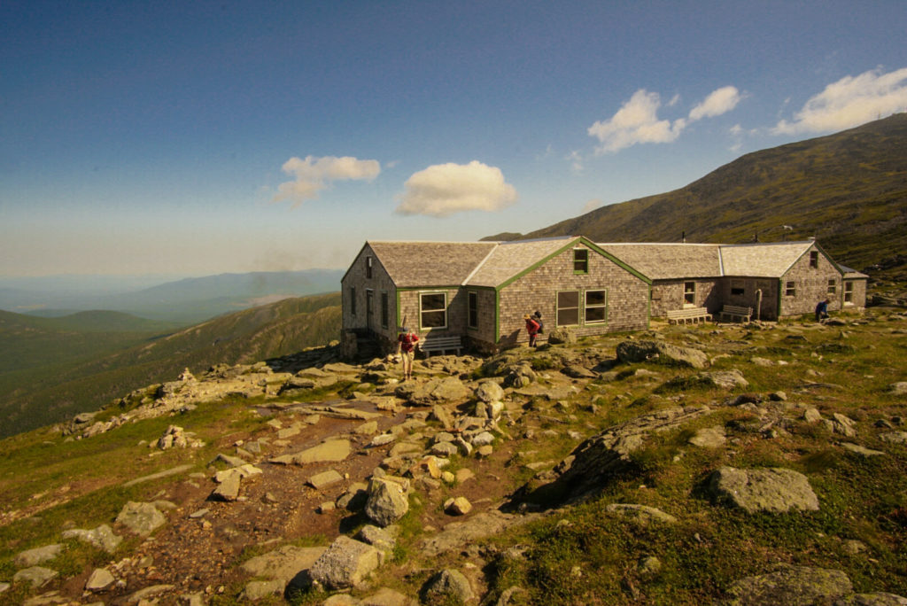 Lake of the Clouds, AMC hut at the base of Mount Washington