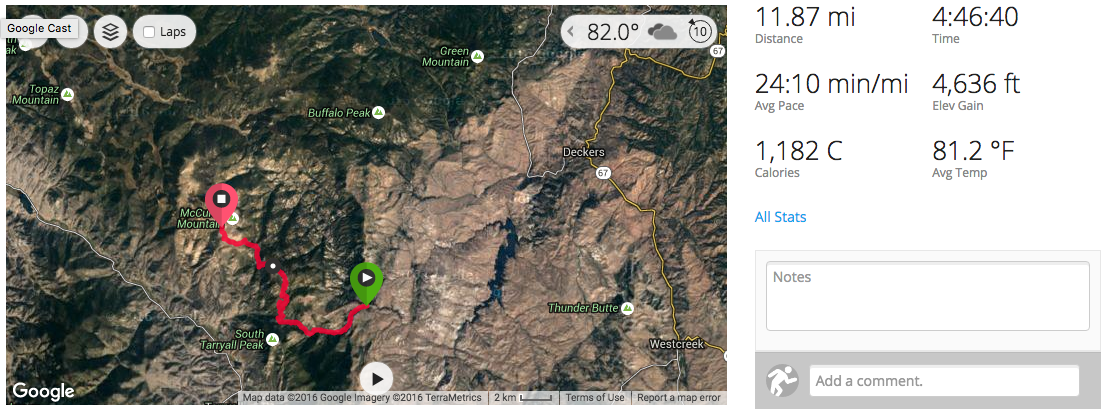 Lost Creek Wilderness Loop Trail: 37-Miles of Secluded Colorado