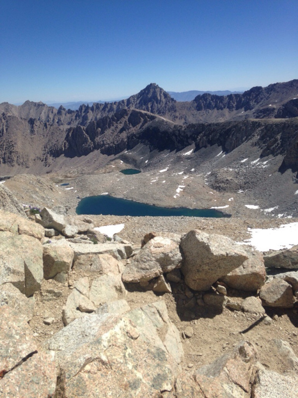 Looking into Kings Canyon from Forester Pass