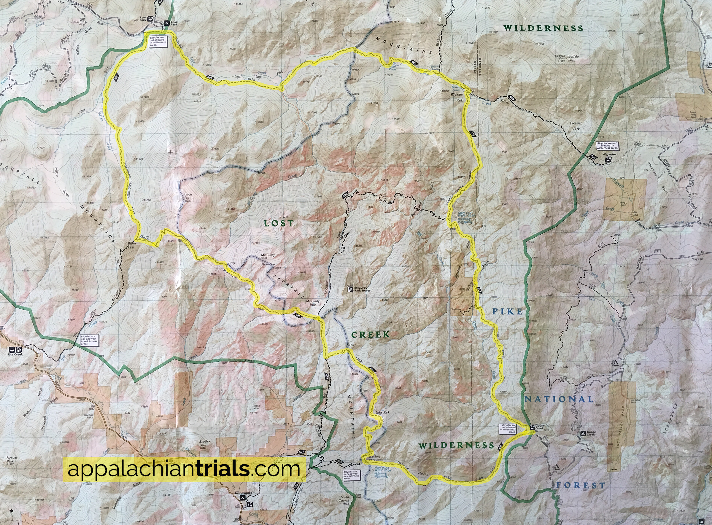 Lost Creek Wilderness Loop Trail: 37-Miles of Secluded