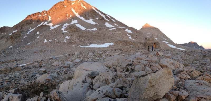 Can't get enough of that muir hut
