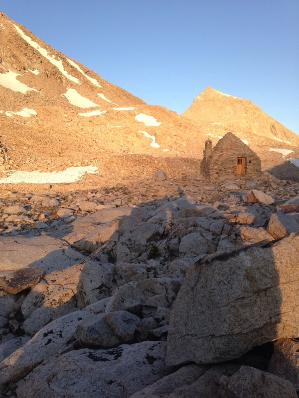 Muir Hut on Muir Pass named after... Muir