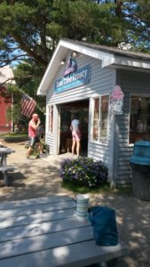 Ice cream in Rangeley, Maine