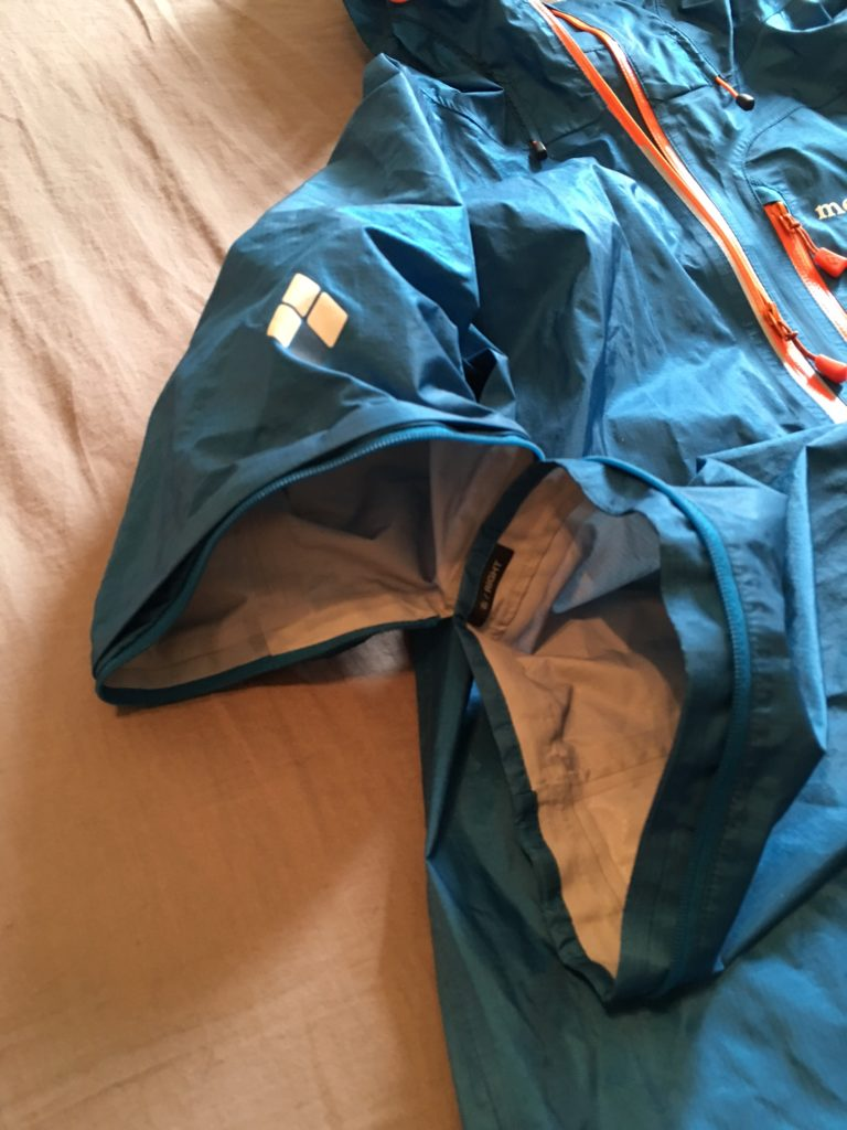 montbell convertible rain jacket 2