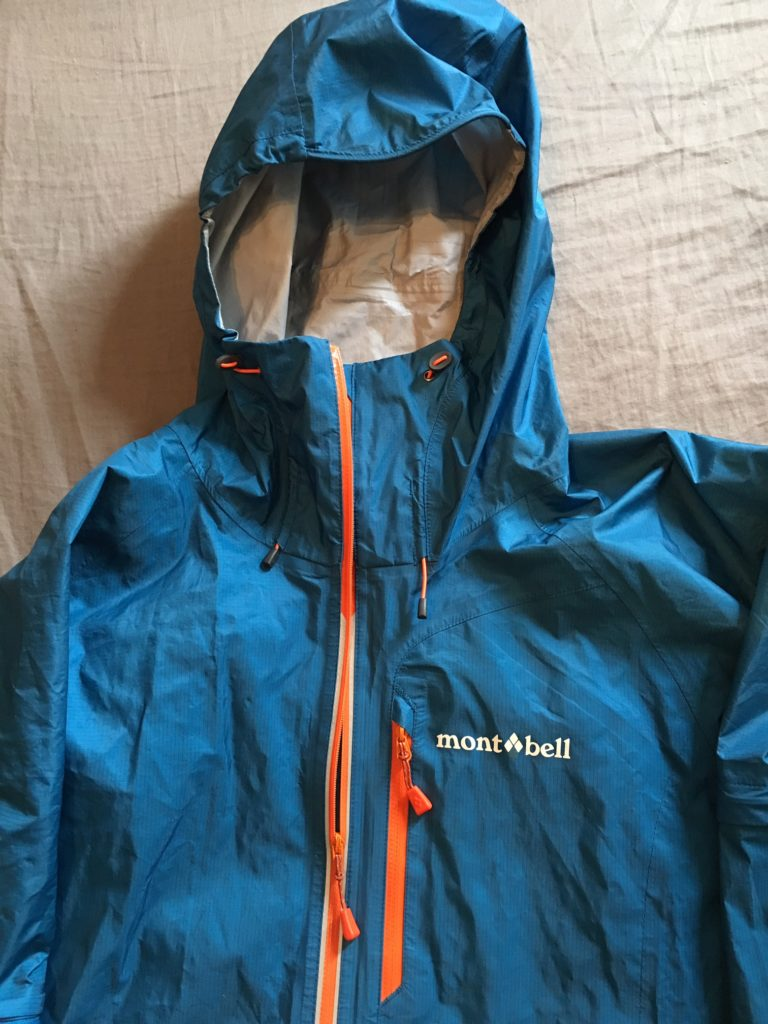 montbell convertible rain jacket