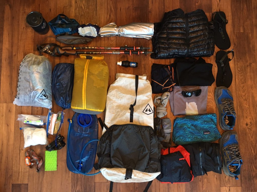 wonderland trail gear list