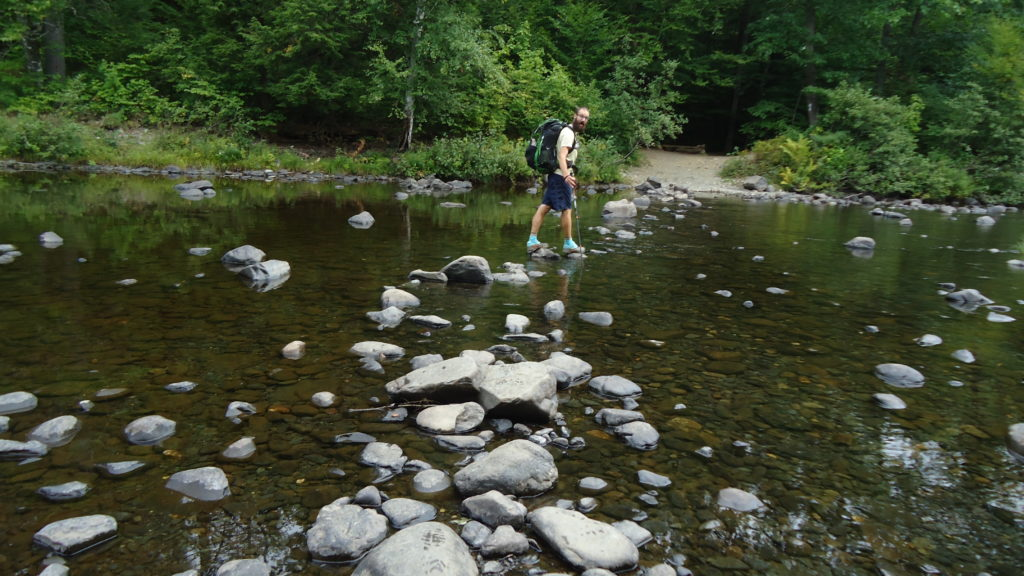 Many river crossing in the wilderness--- many are not challenging due to low water. Some do require fording.