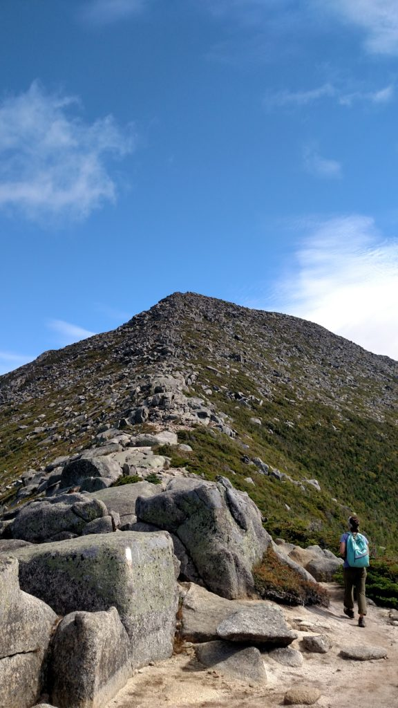 False summit up to the Tableland