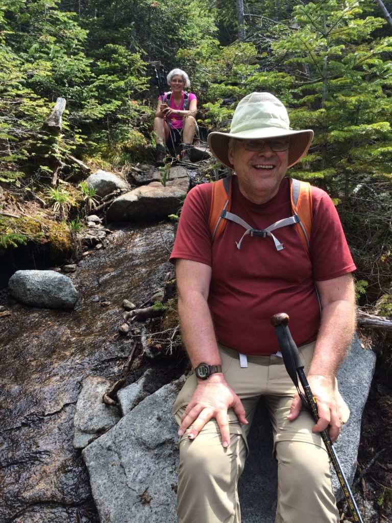 My intrepid hiking partners: Dad and Aunt Deb!