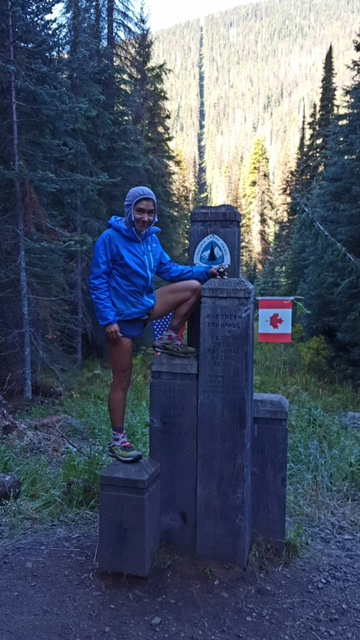 Megan PCT thru-hiker