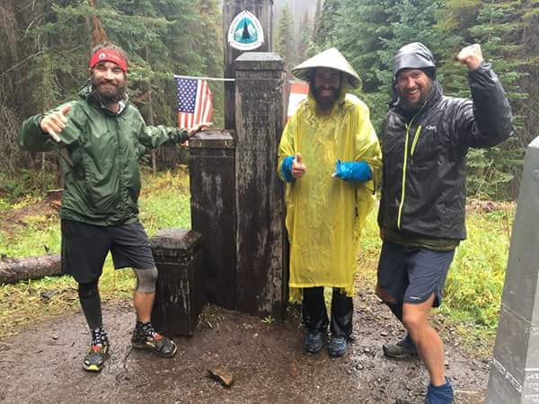 Chapstik, Raiden, and Big Bear 9/18 PCT hiker