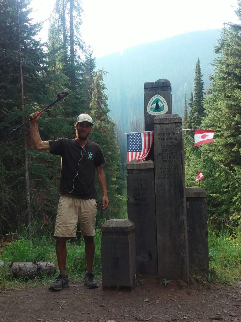 flipflop pct hiker