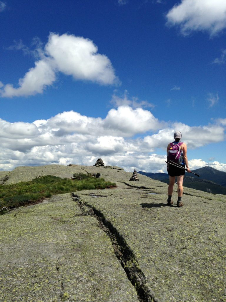 One benefit to a late start: the rare empty summit of a popular peak. Wright, you sure are beautiful.