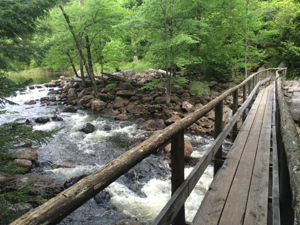Crossing Orebed Brook