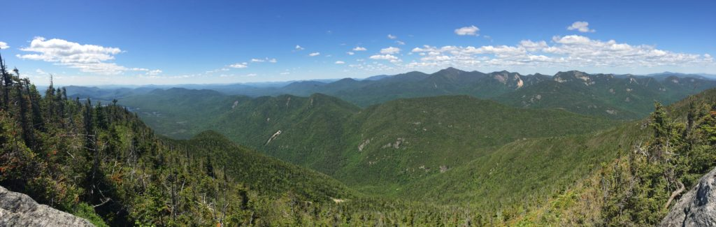 The even better view from Nippletop - a good lunch spot to take a break during this 19 mile day