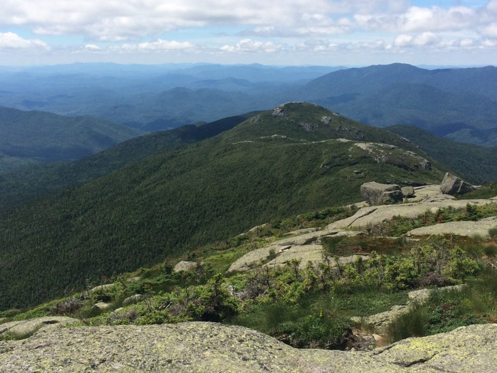 Ridgelining to Wright peak a lá Franconia Ridge = best