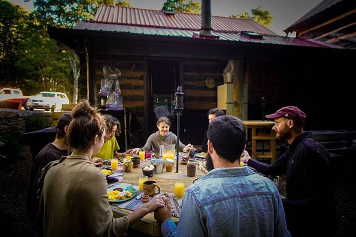 Woods Hole breakfast (photo by Jeremy Morris aka White Gurl)