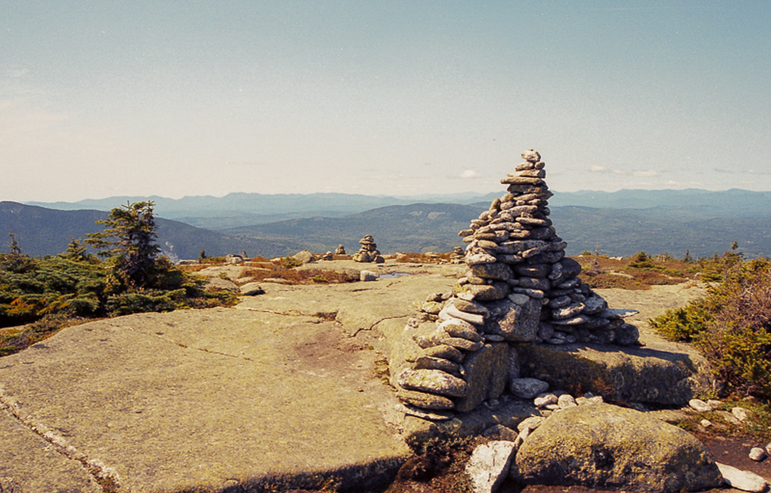 Baldplate Mountain in Maine