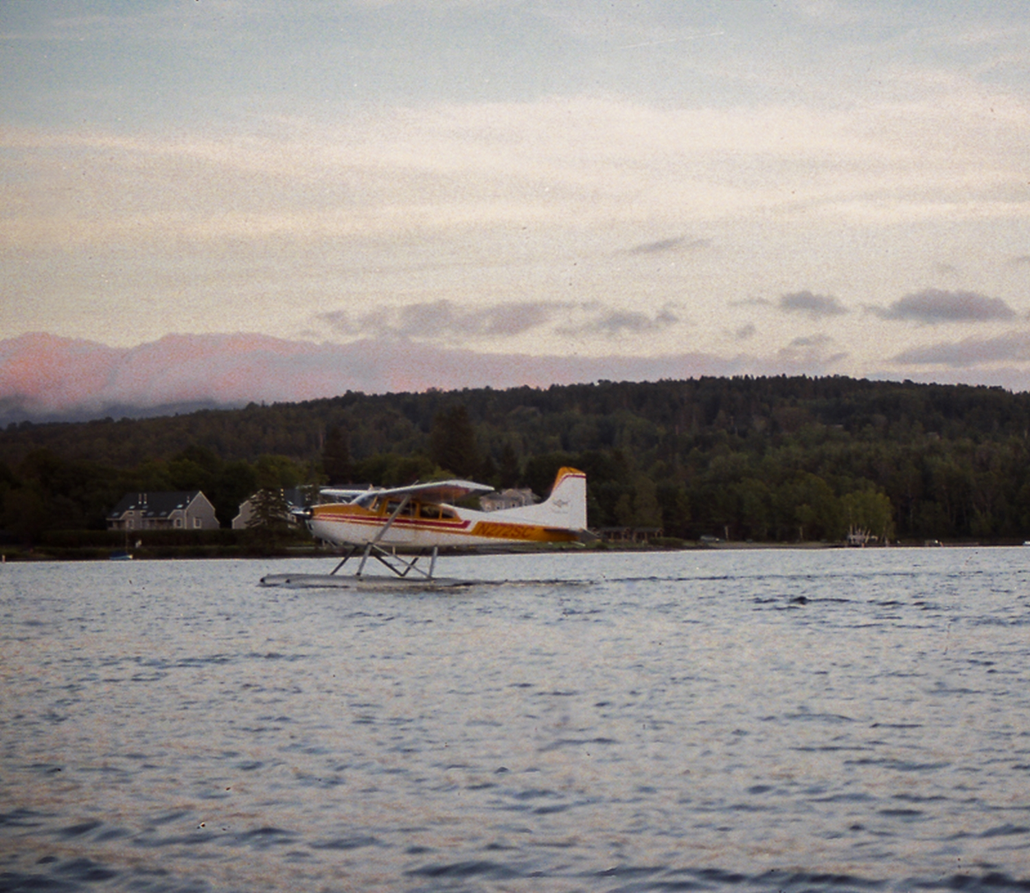 Sea Plane on Rangely Lake.