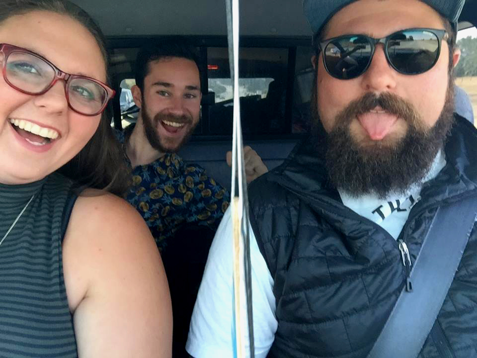 NorCal road trip with Lucky and Lil' Santa