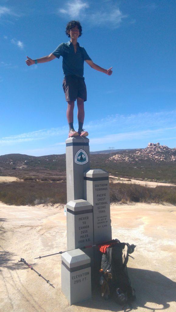 The Machine pct hiker