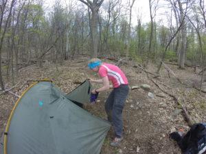 Camp chores