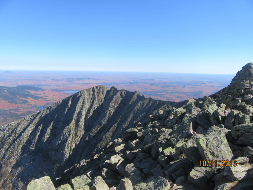 Knife's Edge on Katahdin, ME