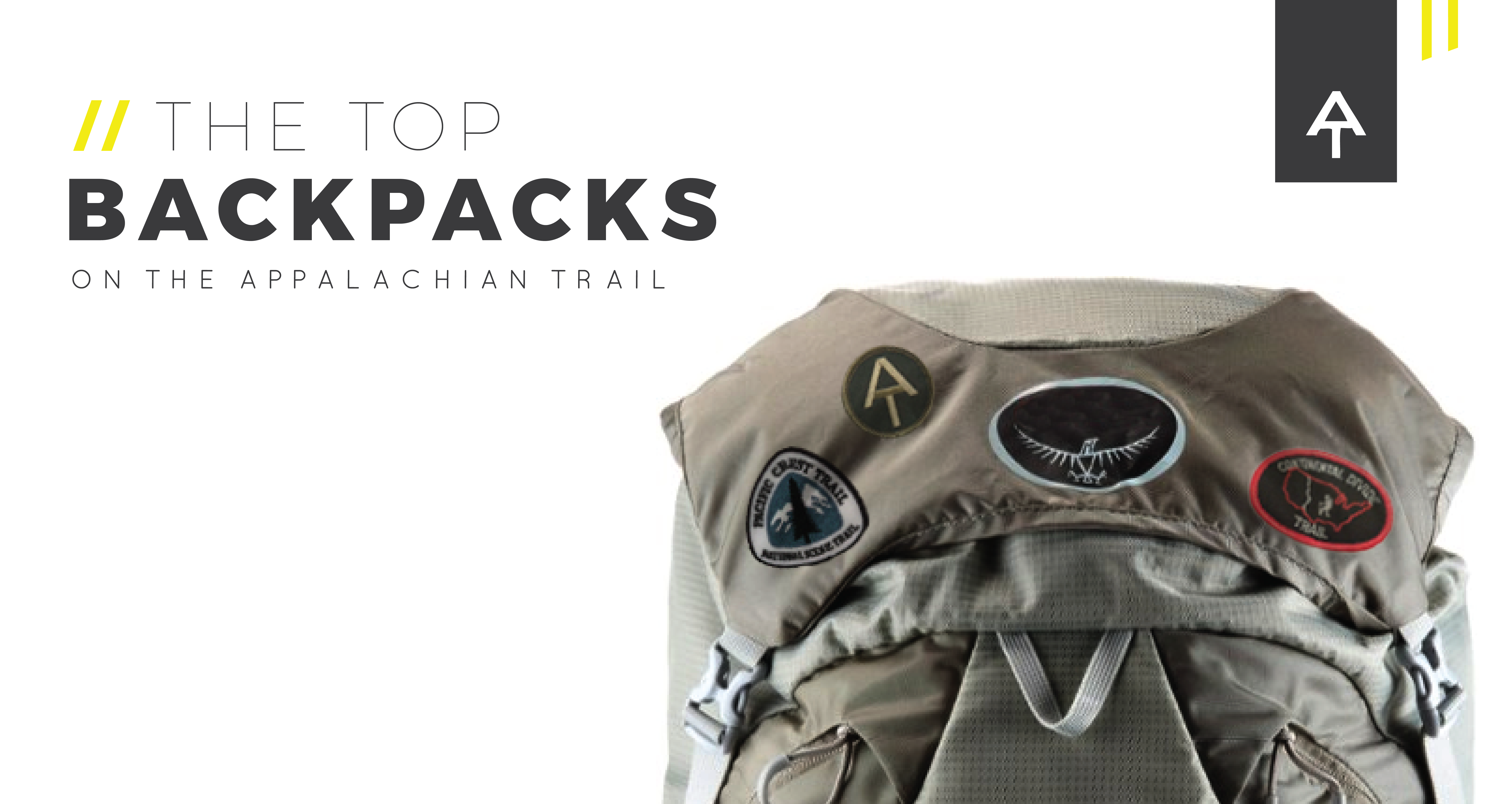 dc2a7ca43a138 The Top Backpacks on the Appalachian Trail  2016 AT Thru-Hiker Survey