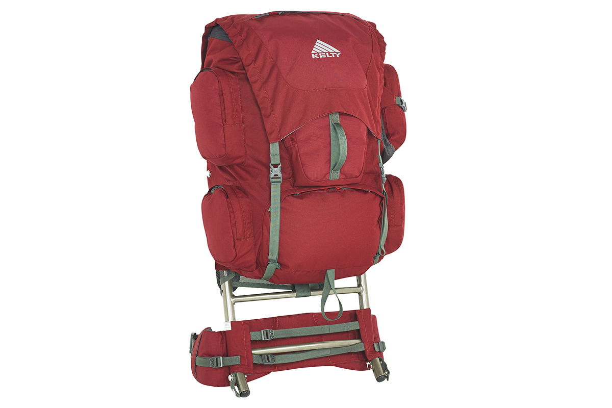 Model: Kelty Trekker 65 Weight: 85 Ounces Retail: 179.95